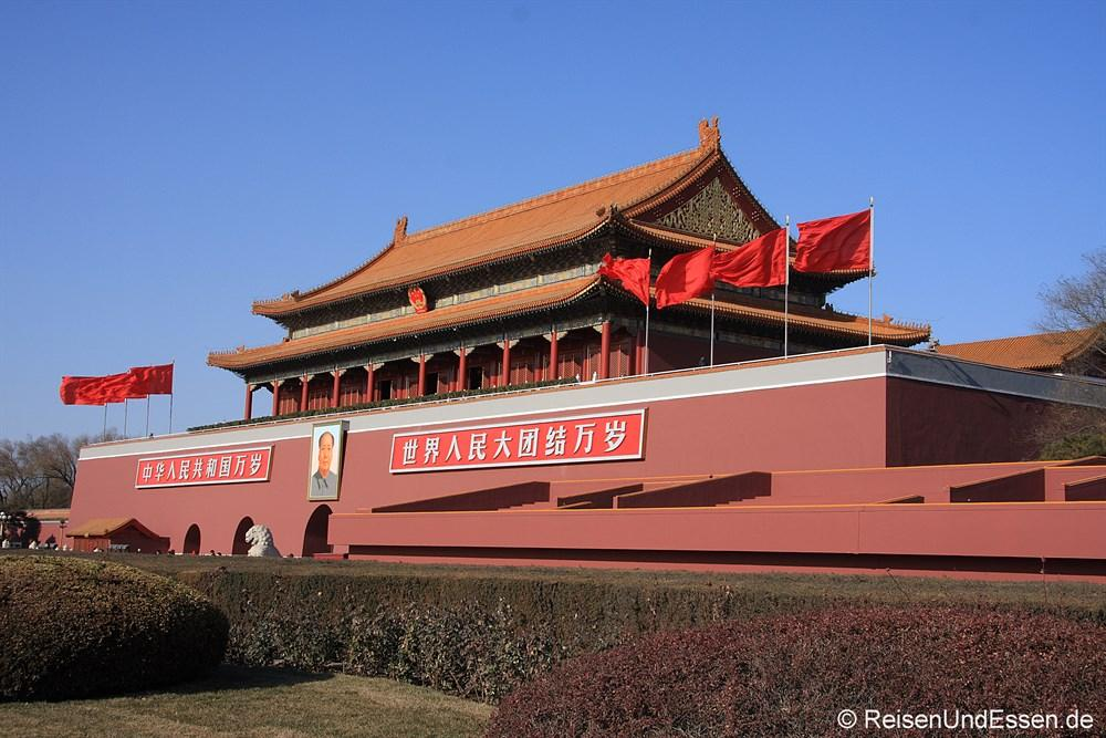 Mao bei Tian'anmen