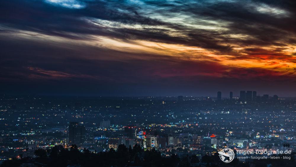 Sunset in LA - etwas später