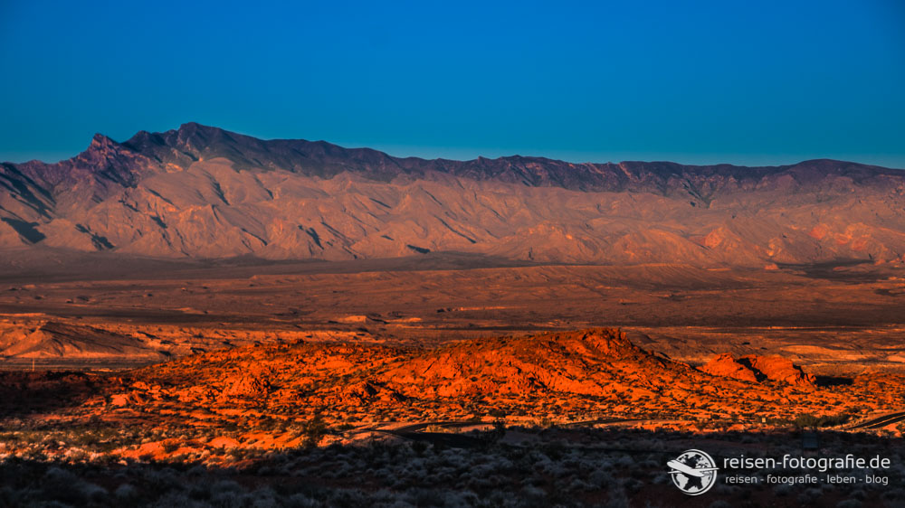 HDR beim Sunset in Valley of Fire