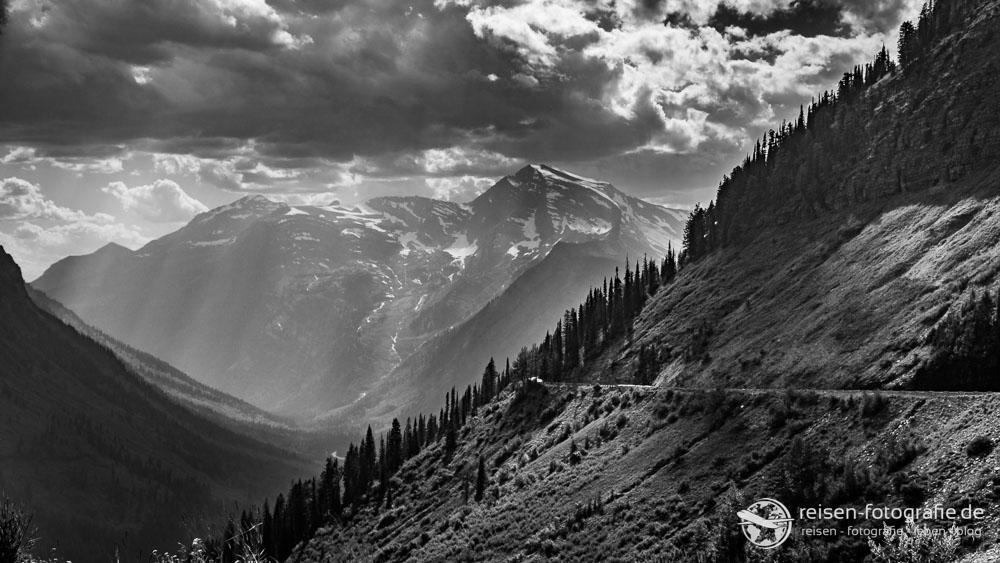Licht und Schatten im Glacier National Park
