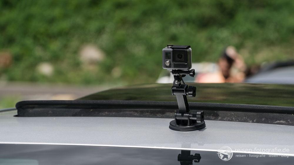 Kamera auf dem Dach