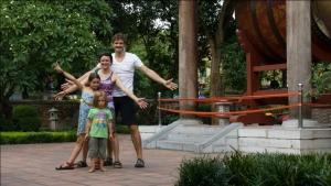 Weltwunderer in Hanoi