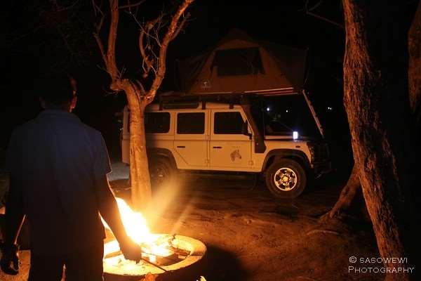 Khwai (North Gate) Campingplatz im Moremi Game Reserve