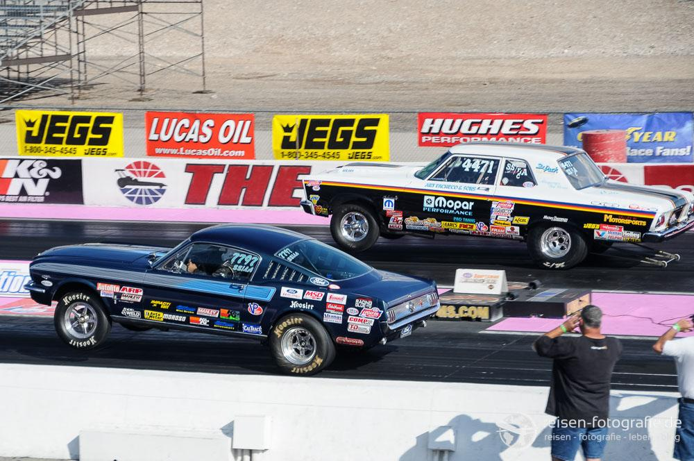 Action am Las Vegas Speedway