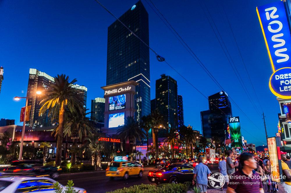 Es wird Nacht in Las Vegas