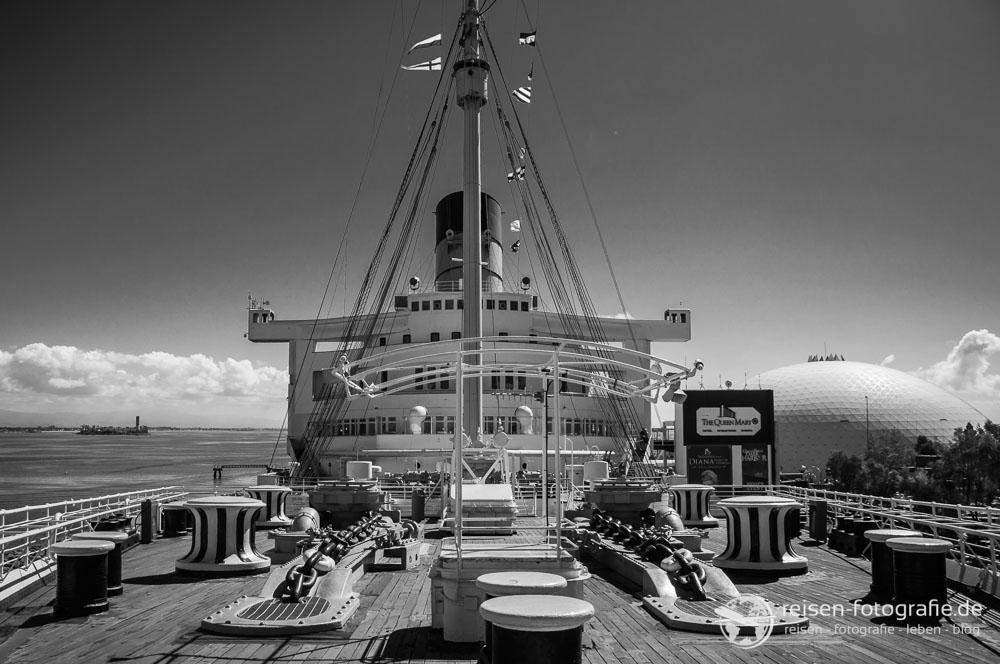 Auf Deck der Queen Mary I