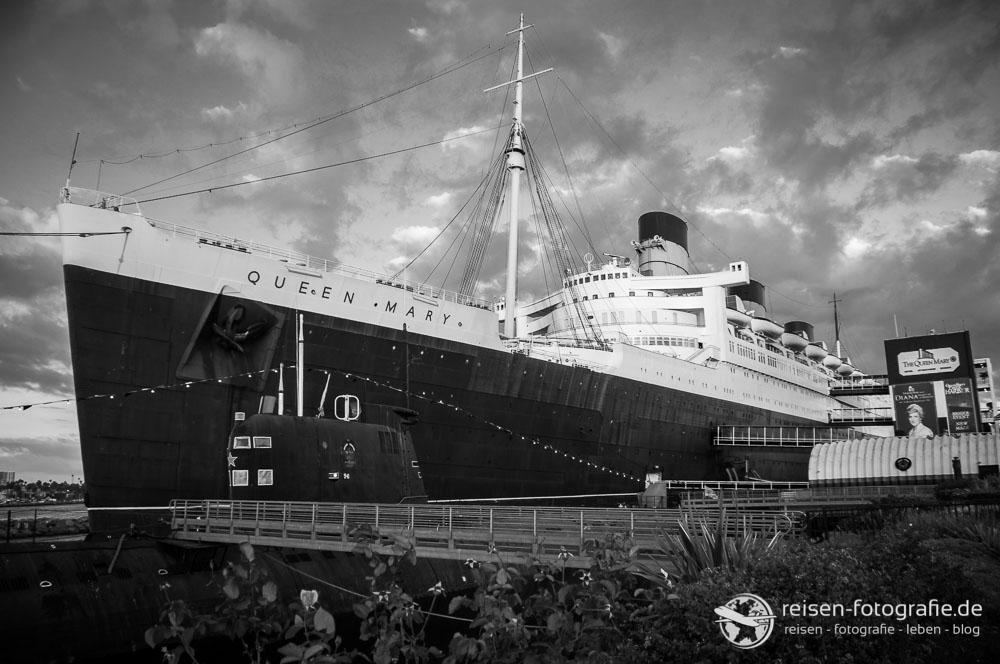 Queen Mary I in Long Beach