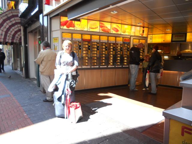 Burger aus dem Automaten