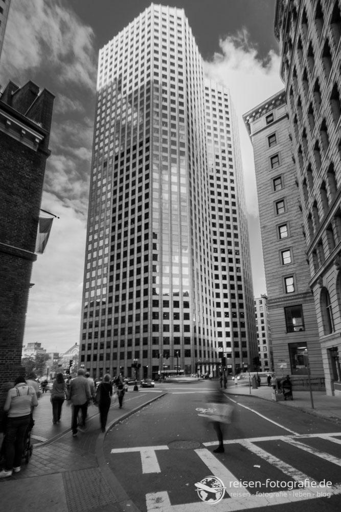 Wolken und Wolkenkratzer - Boston