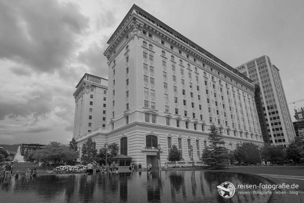 Altes Hotel in Salt Lake City