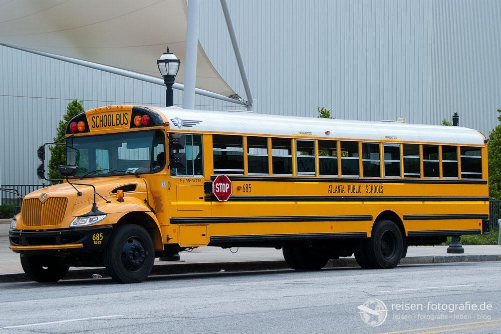 Typischer Schulbus in den USA