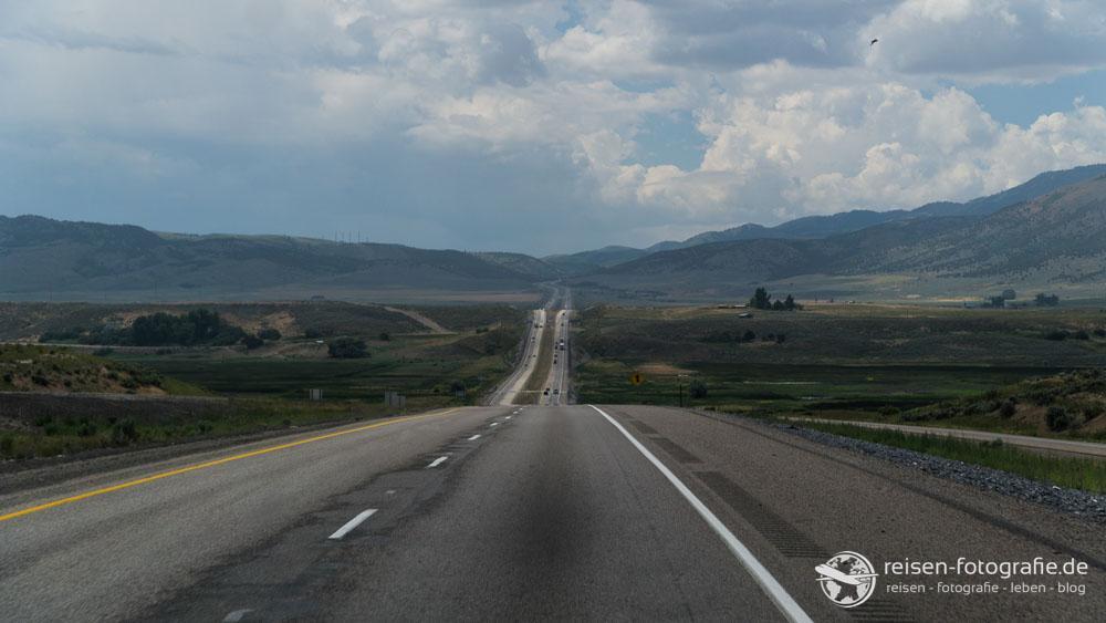 Unendliche Highways - aber achtet auf die Geschwindigkeit