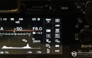 Kamera Grundeinstellungen
