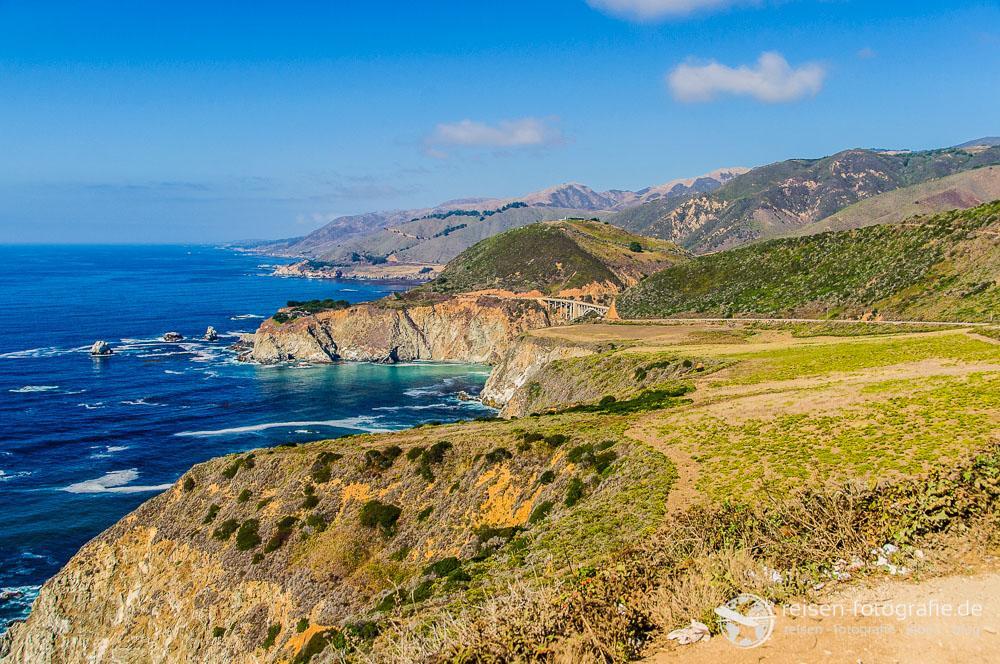 Blick auf die Pazifikküste