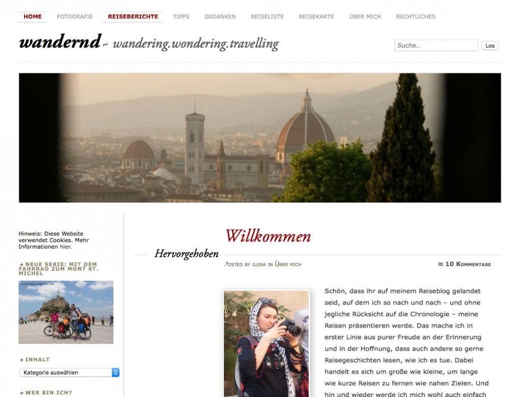 Wandernd Blog