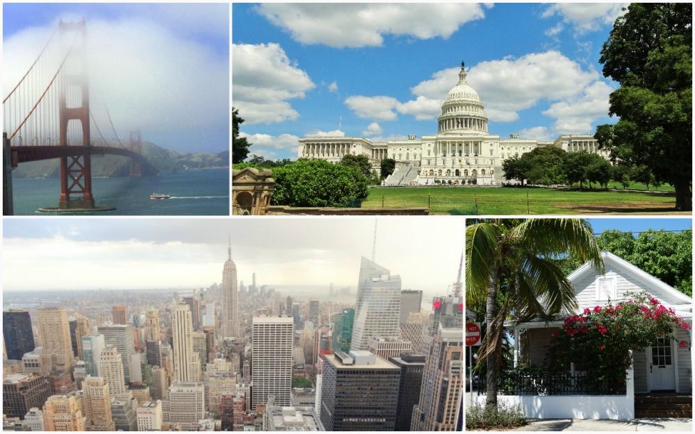 San Francisco - Washington D.C. - New York - Key West