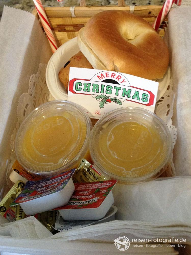 Frühstück an Weihnachten