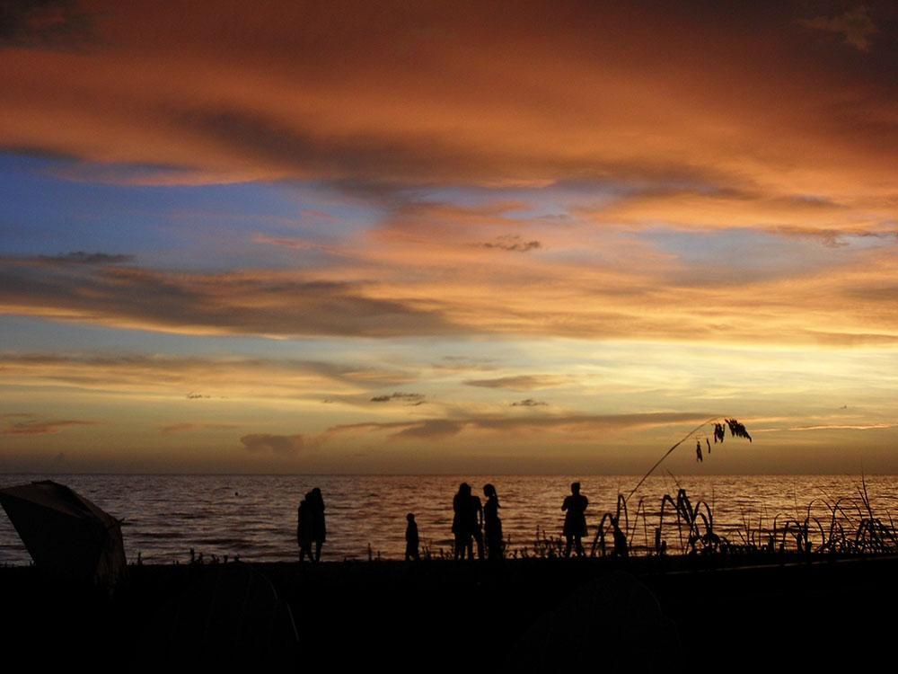 Traumhafte Sonnenuntergänge in Naples an Floridas Westküste.