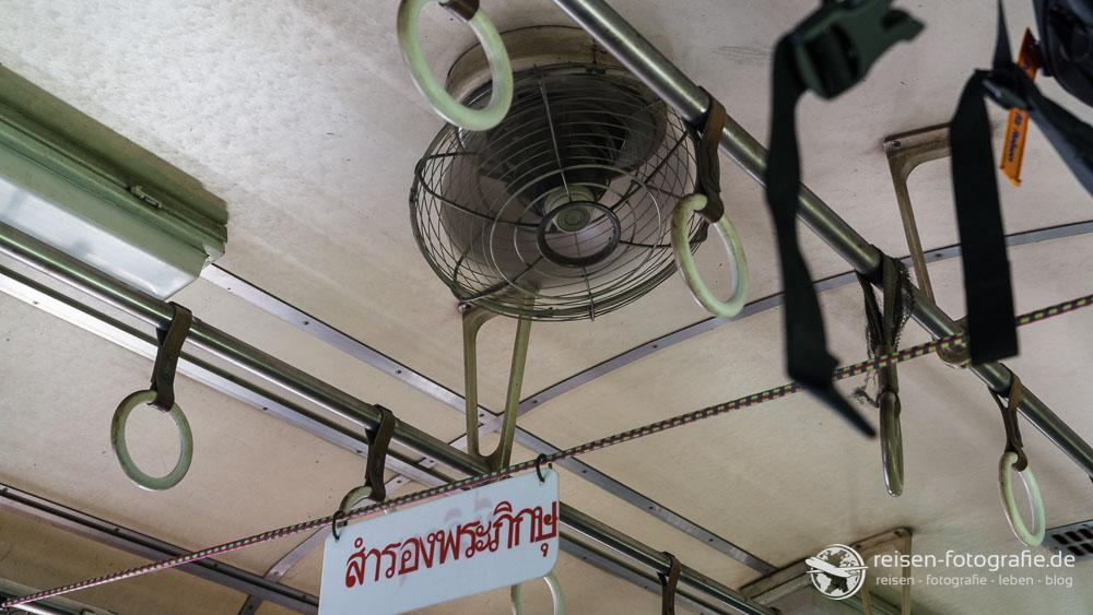 Ventilator - und wir waren froh, dass er da war