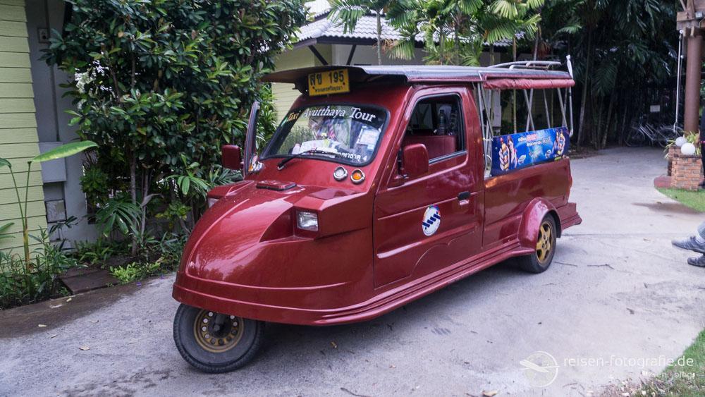 TukTuk in Ayutthaya