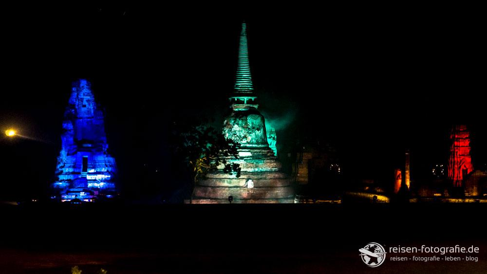 Lightshow am Phra Nakhon