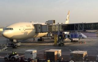 Mit der B777 von Abu Dhabi nach Bangkok