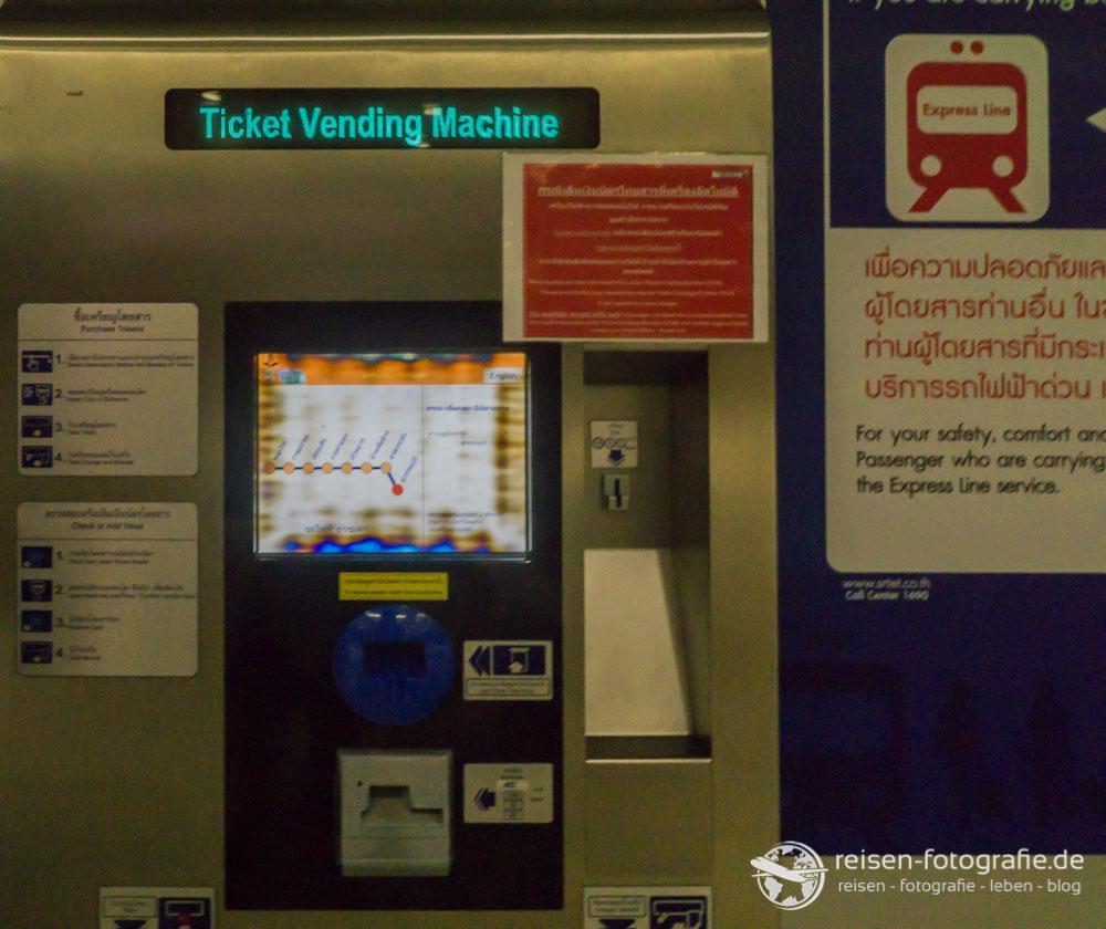 Ticket Vending Mashine in Bangkok
