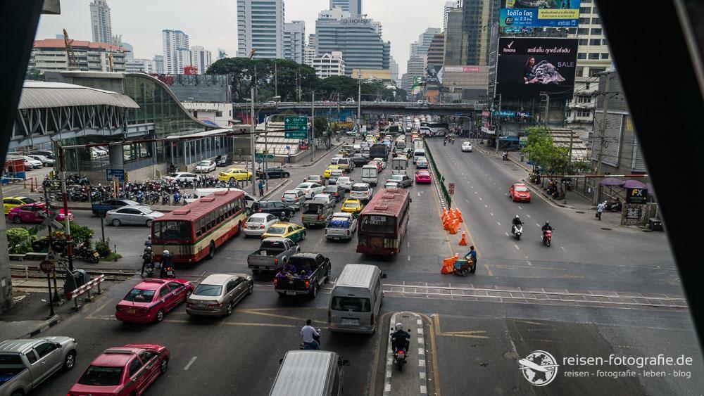 Bangkok - ein klein wenig Verkehr