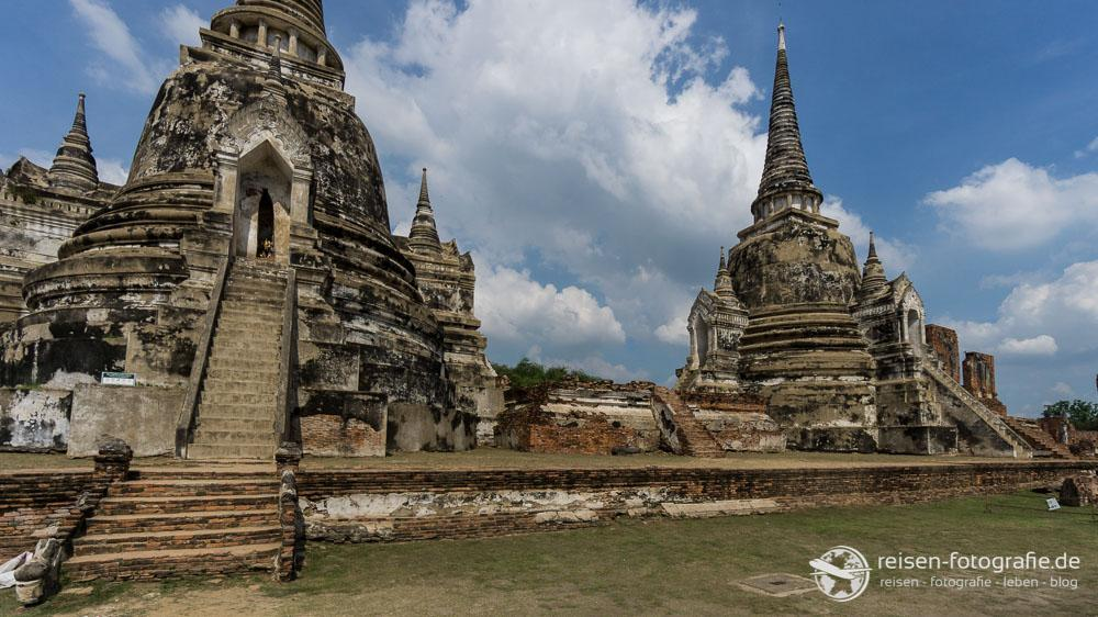 Chedis im Wat Phra Si Sanphet