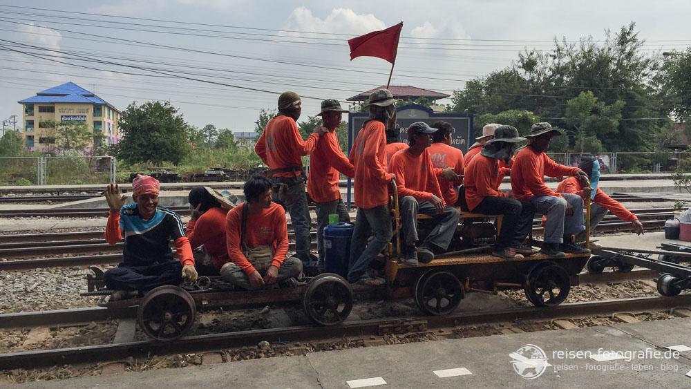 Nein, nicht unser Zug