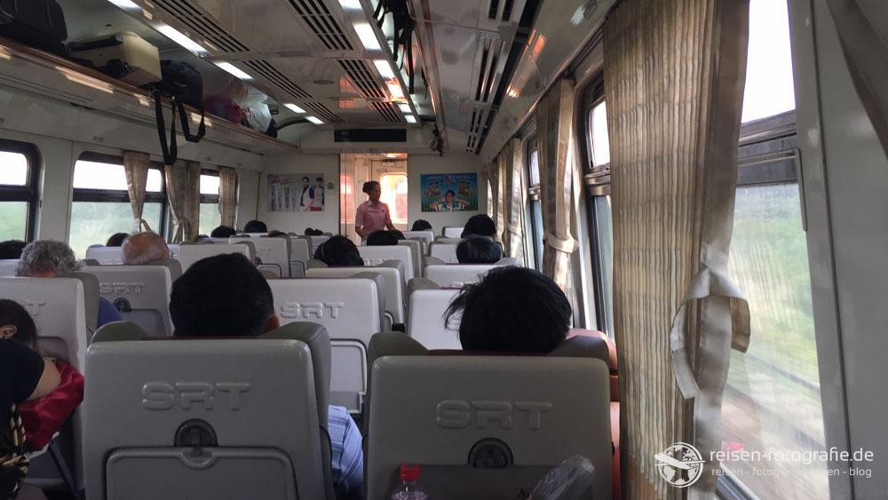 2. Klasse Wagen in Thailand