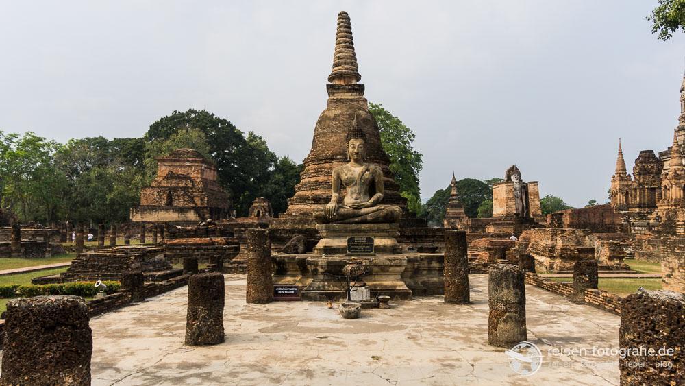 Unzählige Bhudda-Statuen