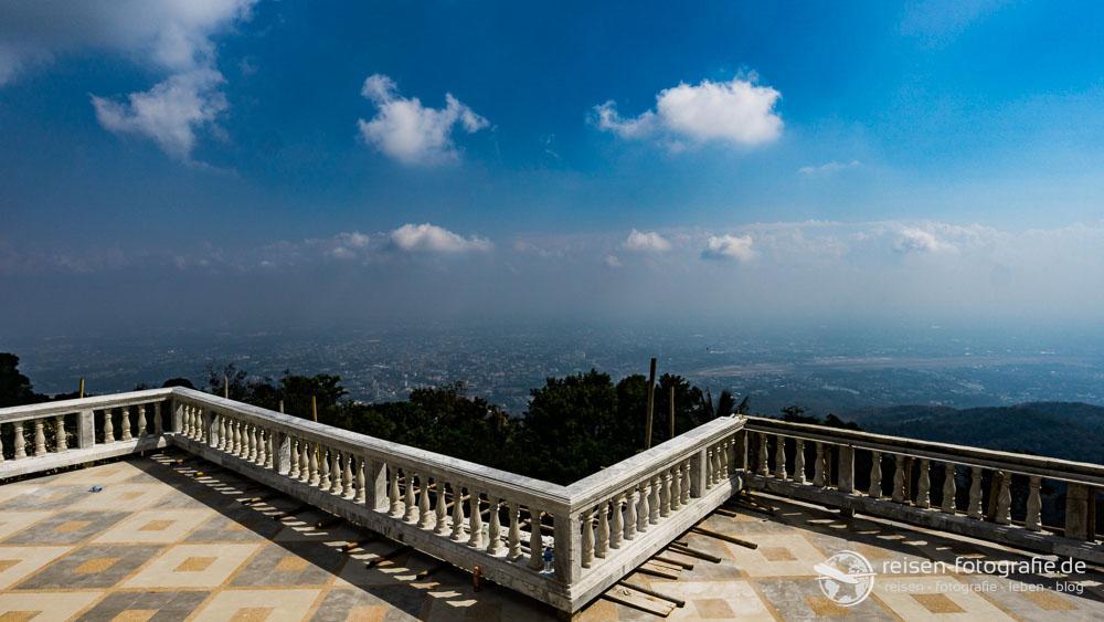 Blick über Chiang Mai