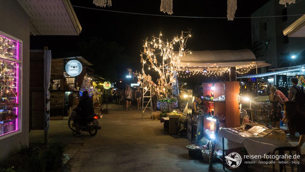 Nachtmarkt in Chiang Mai