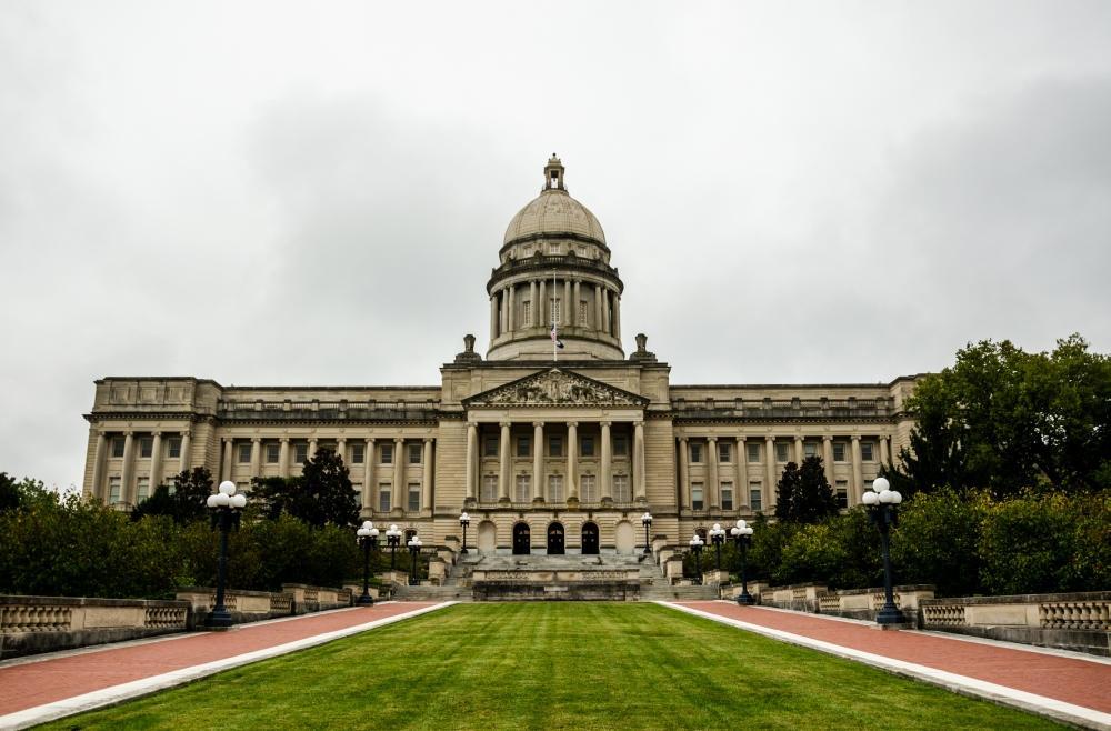 Das neue State Capitol in Frankfort, Kentucky