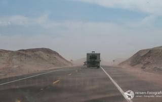 Sandsturm - rund um Tuba City auf dem Highway 89