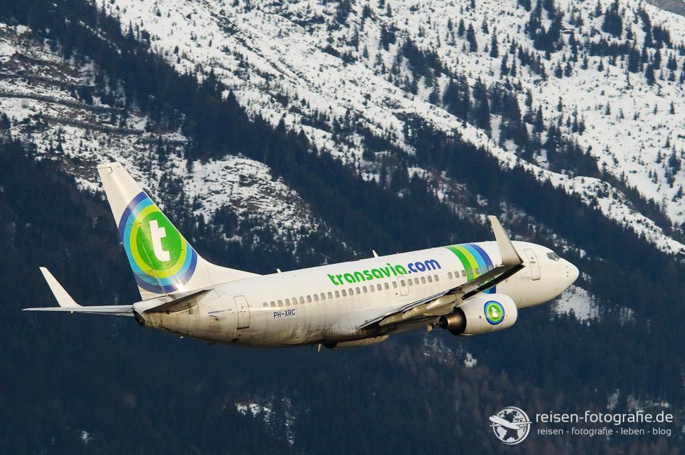 Tolle Kulisse in Innsbruck