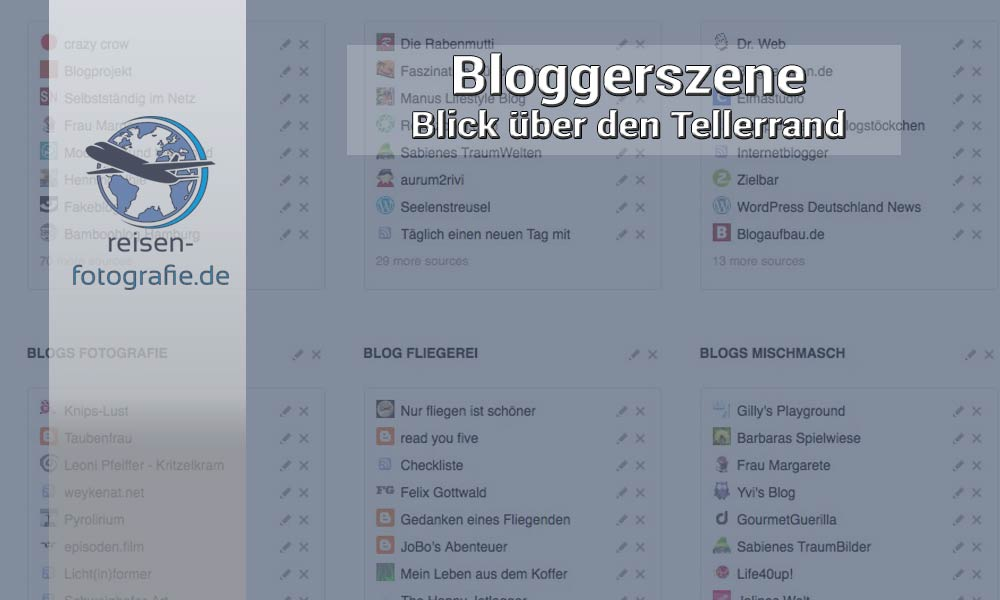 Blick in die Bloggerszene