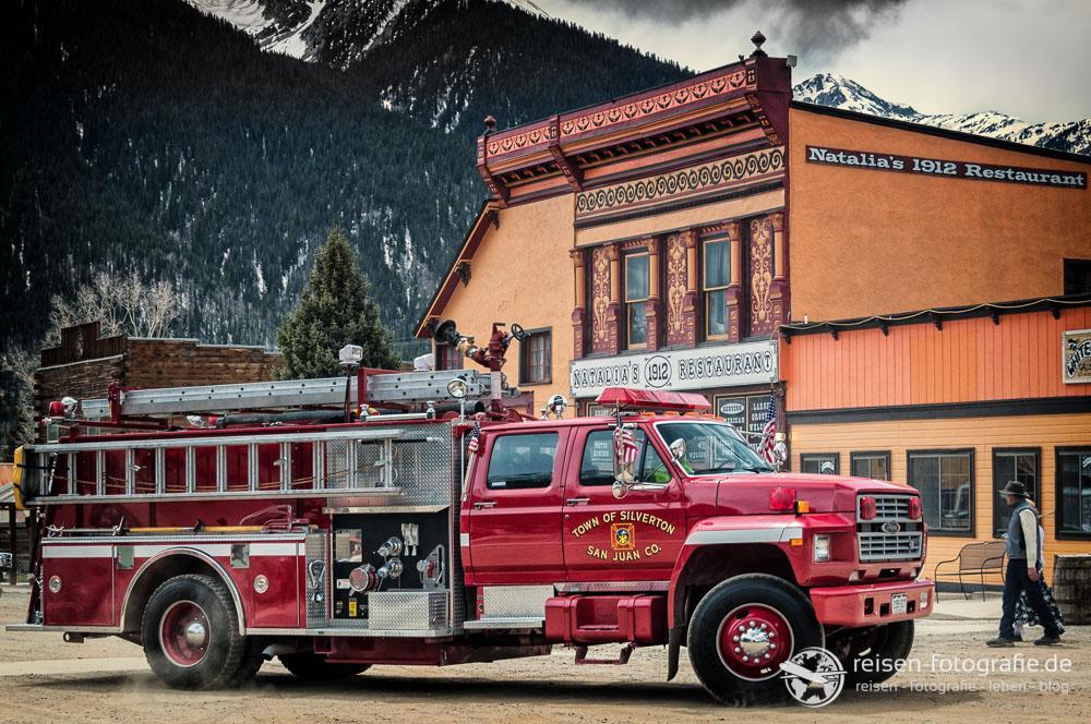 Die Feuerwehr von Silverton