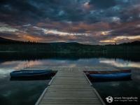 Sonnenuntergang am Dutch Lake