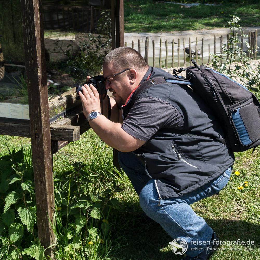 Beim Makro-Fotografieren