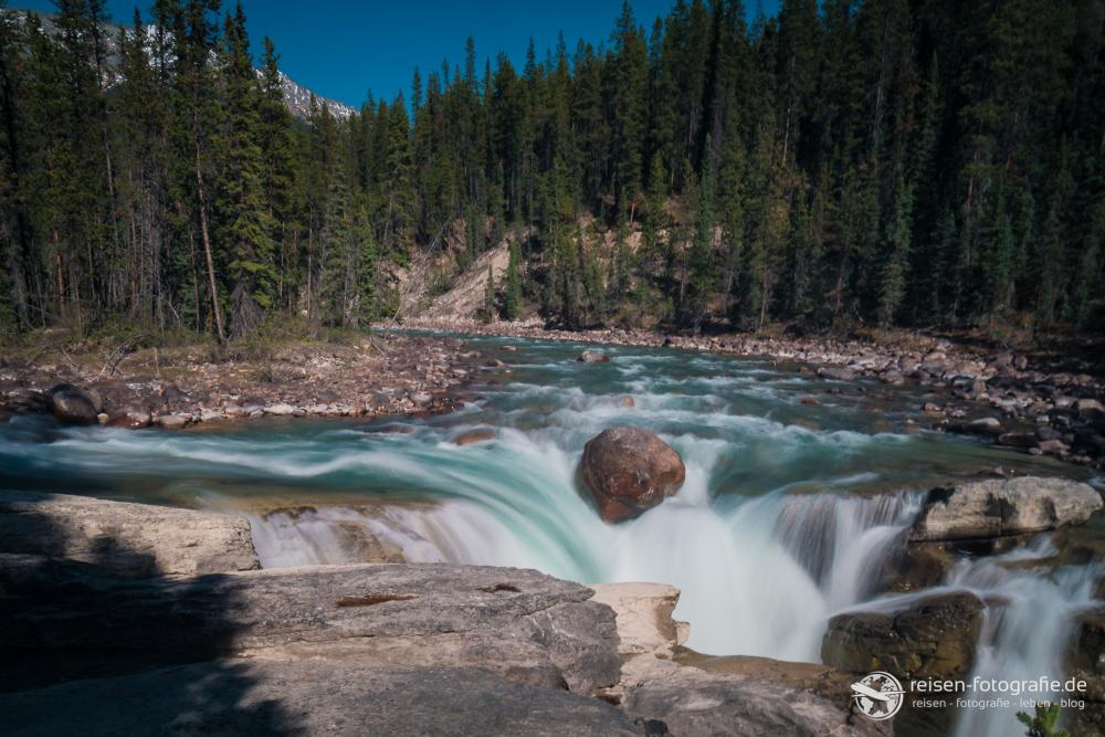 Wasserfall 1 im Japser National Park