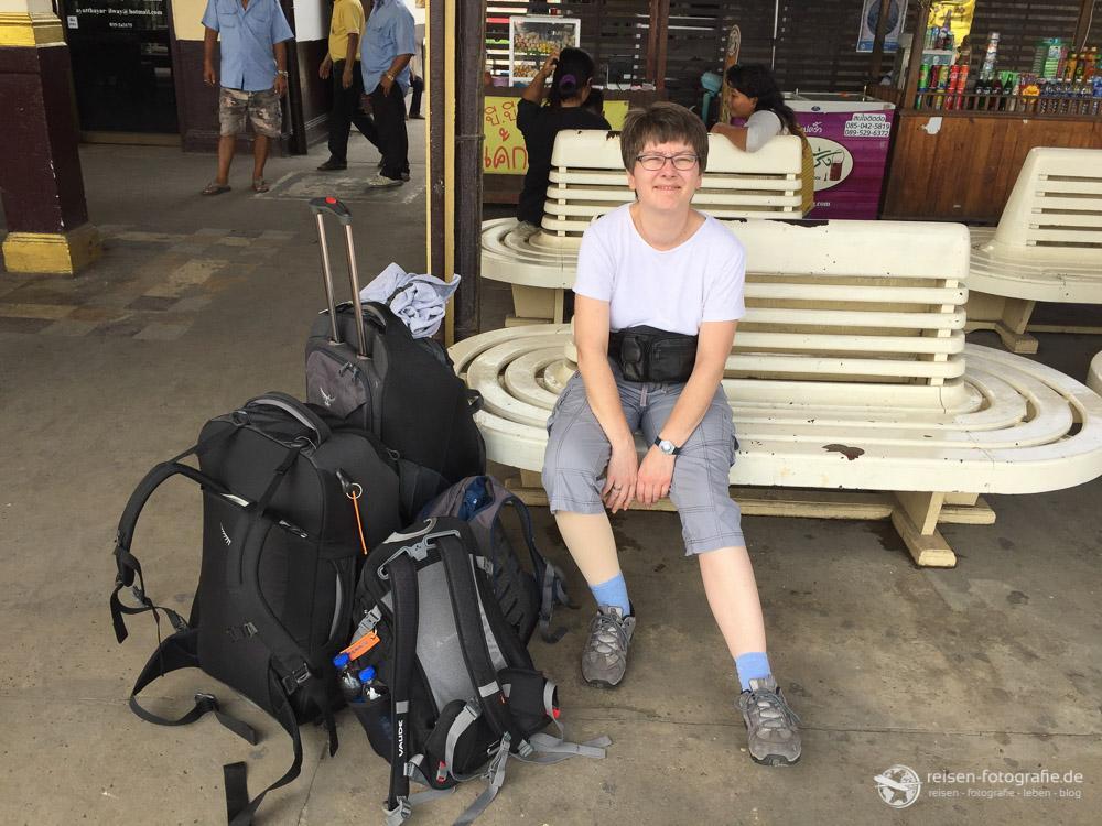 Gepäck in Thailand als Flashpacker
