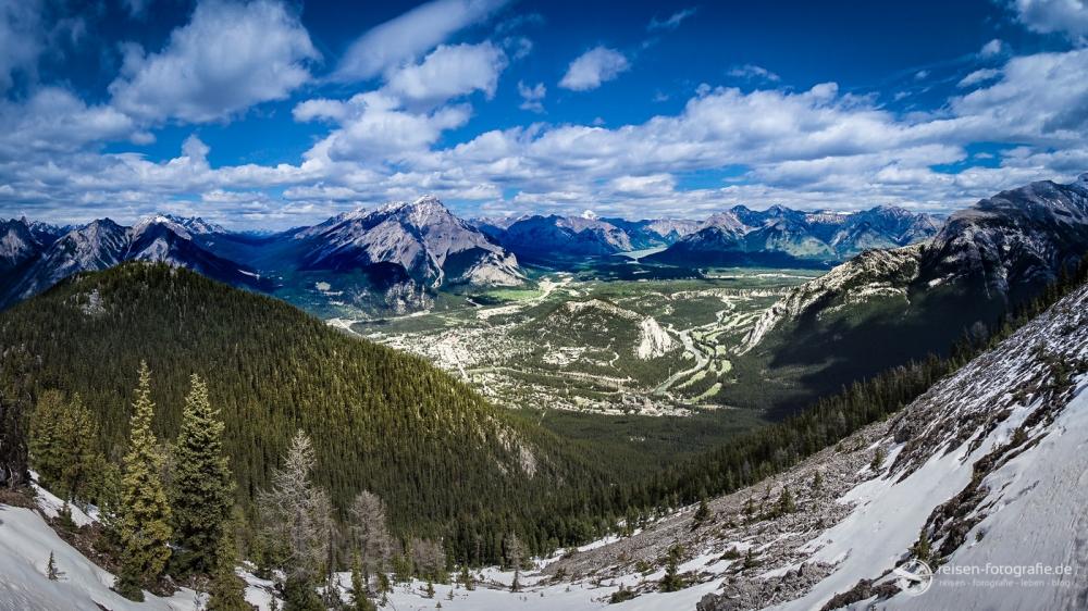 Lieblingsfoto 1/2016: Panorama im Banff National Park