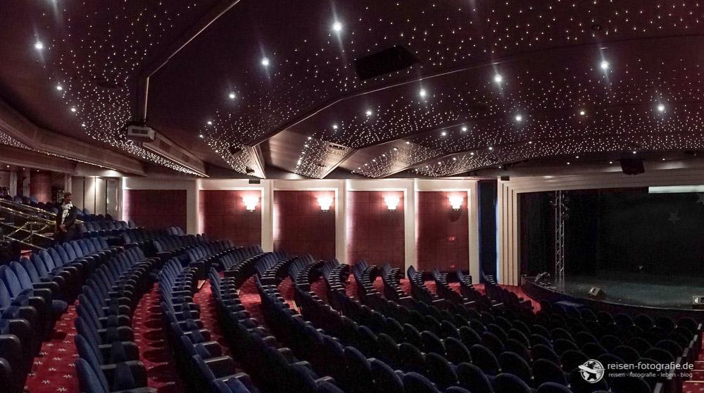 Theater an Bord der MSC Opera