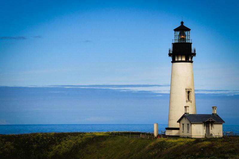 Leuchtturm in Oregon.