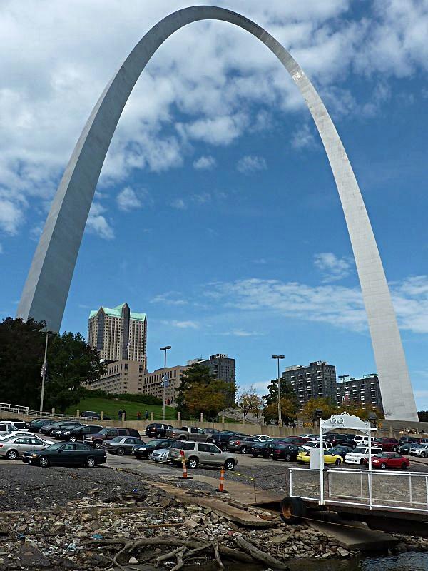 Gateway Arch in St. Louis - das Tor zum Westen