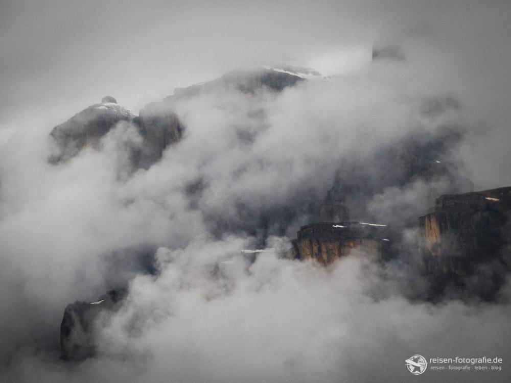 Berge - Wolken
