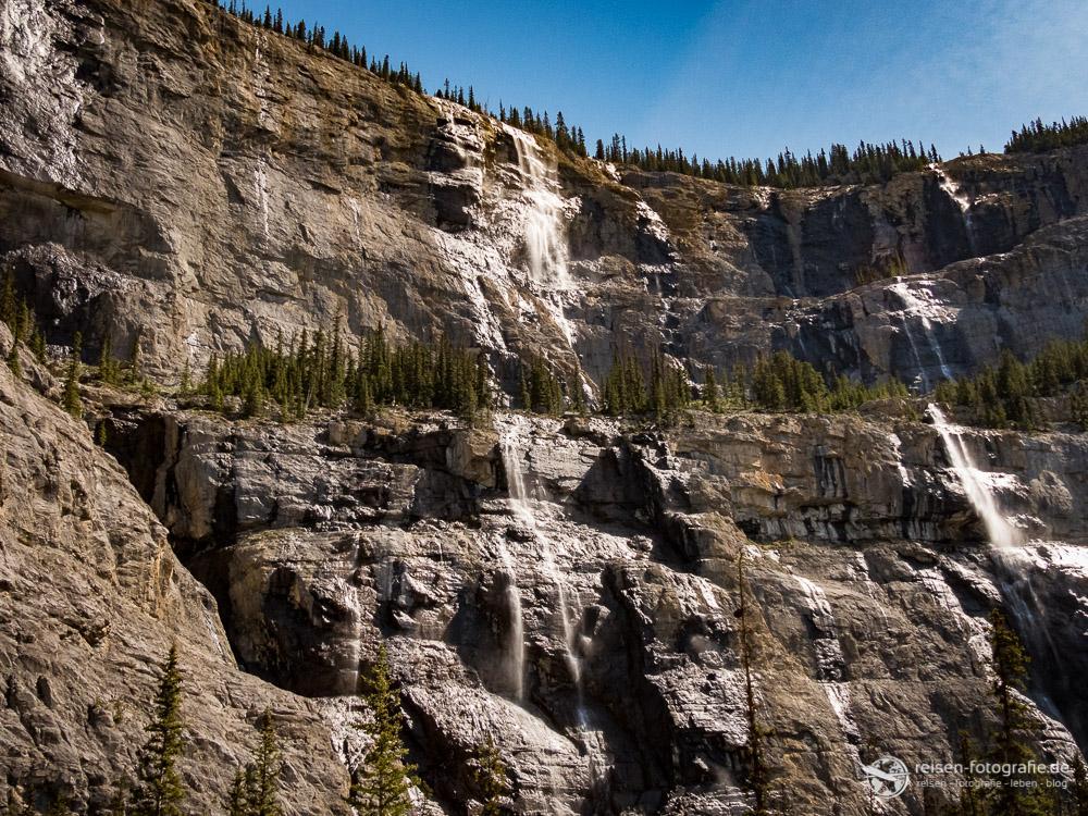 Wasserfälle im Banff National Park