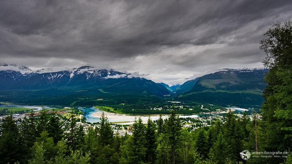 Aussicht vom Mount Revelstoke